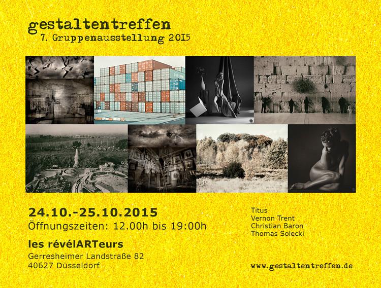 7. Gestaltentreffen Gruppenausstellung, Düsseldorf